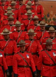 many marching mounties